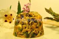 Captura de Ovos mexidos com aspargos verdes
