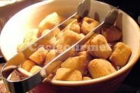 Captura de Croquete de frango com cebola e verduras