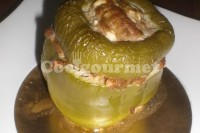 Captura de Pimentão recheado com tortilla