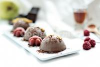 Captura de Trufas geladas de chocolate