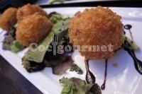 Captura de Croquete de frango com verduras