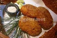 Captura de Croquete de frango e queijo azul