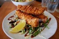 Captura de Filé de peixe frito